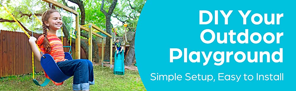 DIY your outdoor playground