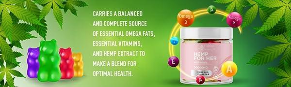 Balanced source of omegas and vitamins