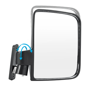 Bumbee Golf Cart Folding Side Rear View Mirrors