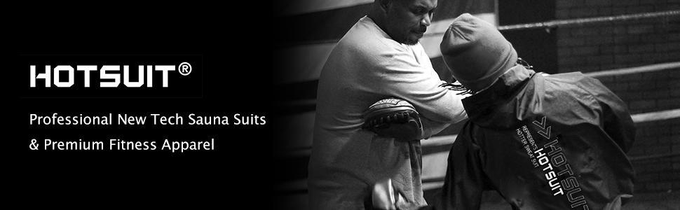 HOTSUIT Sauna Suit Men Weight Loss Durable Boxing Sweat Suits Workout Jacket