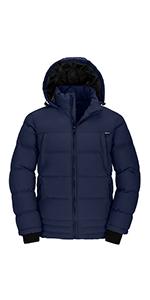 Menamp;#39;s Thicken Puffer Jacket