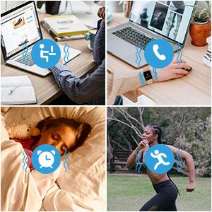 fitness tracker watches for women men kids activity tracker heart rate monitor waterproof