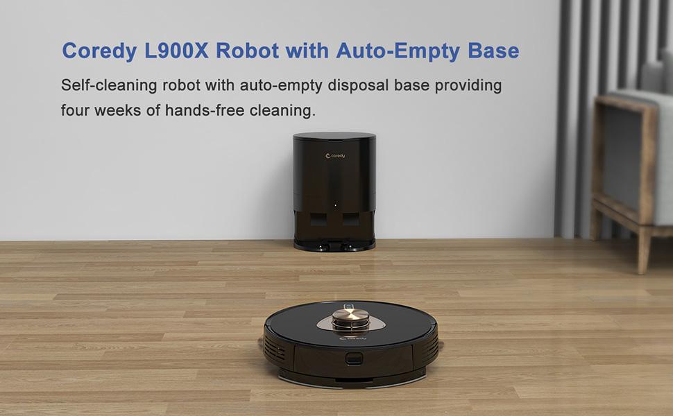 Coredy L900X robot vacuum cleaner