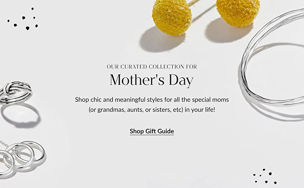 Shop chic and meaningful styles for all the special moms in your life!