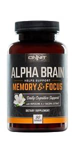 Onnit Alpha Brain Nootropic Brain Supplement