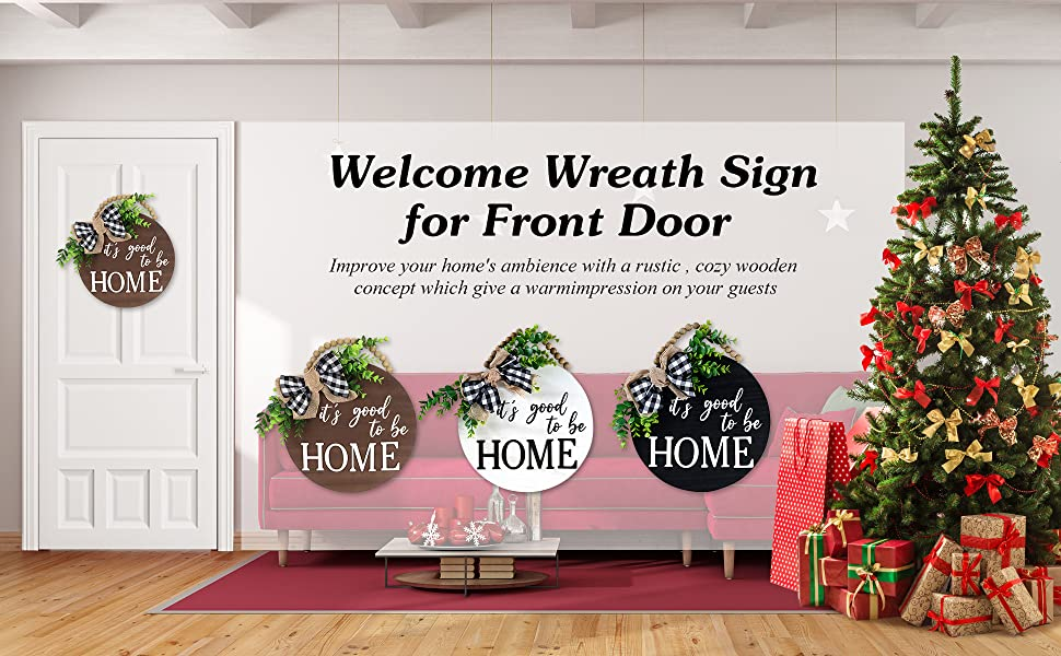 3 D Welcome Sign