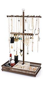 jewelry stand bronze