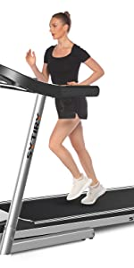 Color screen treadmill