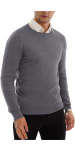 Fashion Crew-Neck Pullover Sweater