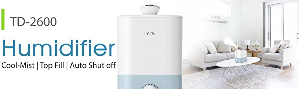 A+ BANNER TD2600 HUMIDIFIER