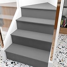 Matte Grey Wallpaper Self Adhesive Wallpaper Stick and Peel Decorative Contact Paper Neutral Color