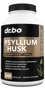 psyllium husk capsule fiber supplement constipation pills men women caps regular bowel movements