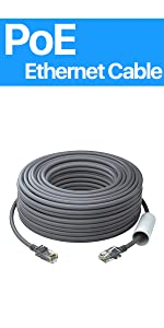 100ft POE ethernet cable