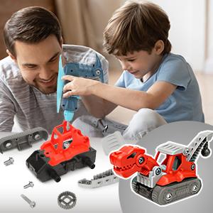 take apart toys