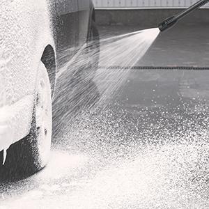 foam washing