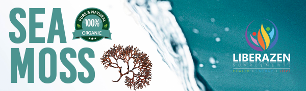 Organic irish sea moss and bladderwrack capsules by Liberazen