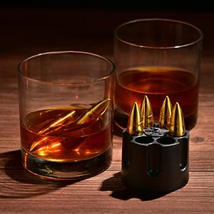 whiskey bullet silver