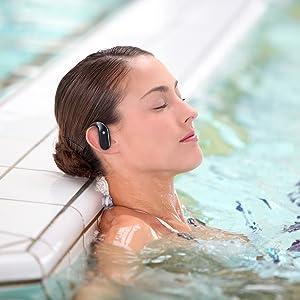 enjoy swimming wireless bluetooth earbuds headset