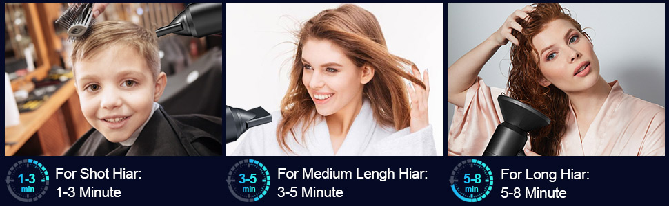 ionic hair dryer fast dry