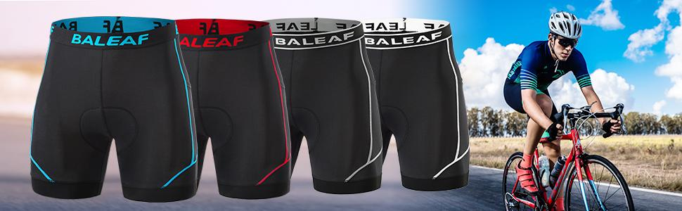 mens bike underwear shorts padded