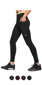 Water Resistant Thermal Running Tights