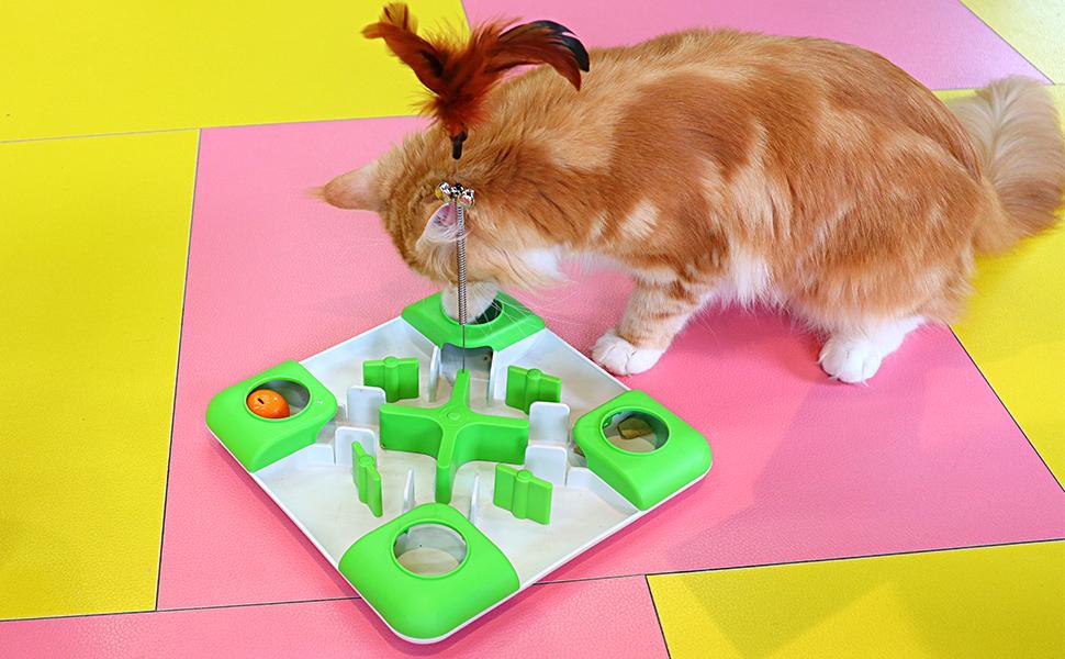 Cat Puzzle Feeder