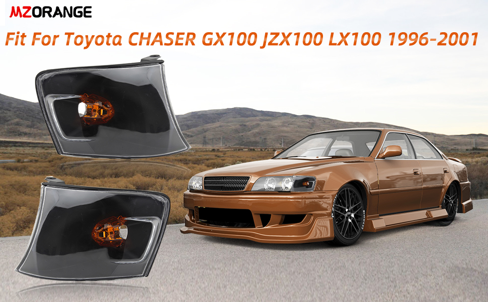 MZORANGE Corner Lamp Turn Signal Light For Toyota CHASER GX100 JZX100 LX100 1996-2001
