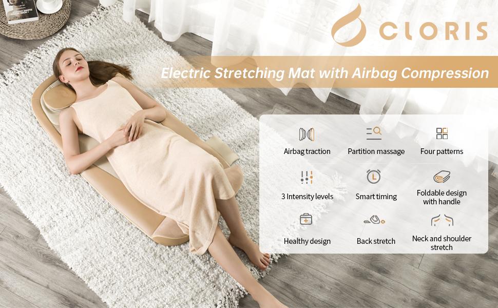 CLORIS Stretching Massage Mat