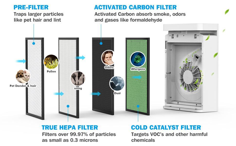 air purifier room