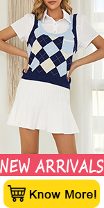 Kate Kasin Women A-Line Ribbed Knit Pleated Ruffle Trim Elastic Waist Mini Short Skirt