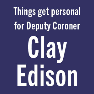 Things get personal for Deputy Coroner Clay Edison;thriller;kellerman;crime book;gifts for dad