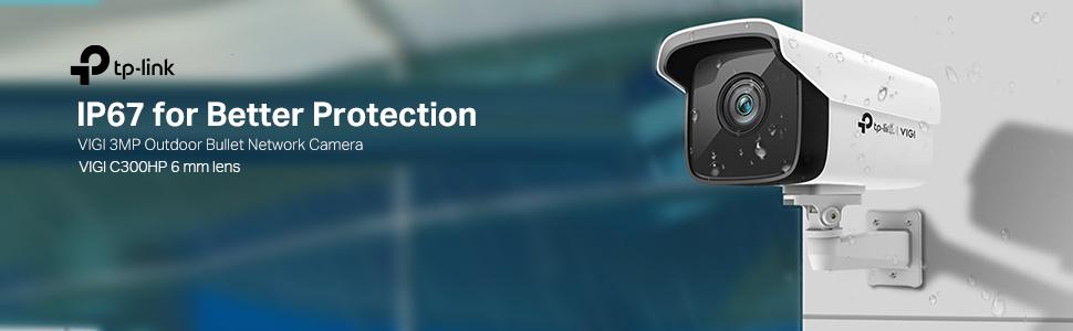 VIGI 3MP Outdoor Bullet Network Camera