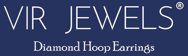 Vir Jewels Diamond Hoop Earrings