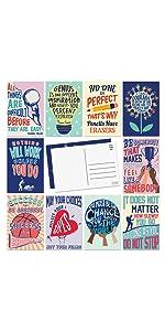 10 design motivational postcard for positivity encouragement great design and colors