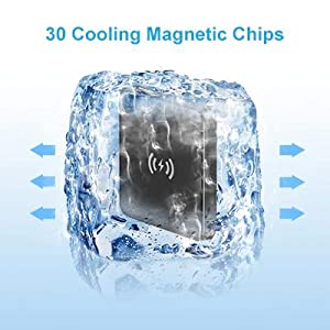 30 cooling magnetic chips