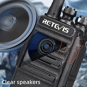 clear voice walkie talkie