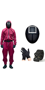 Squid Game Costume Suit
