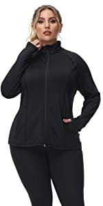 workout jackets for women lightweight