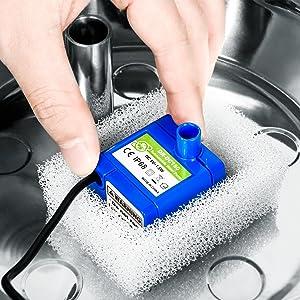 cat water fountain pump