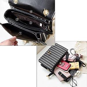 Praktische Mehrfachtaschen und große Kapazität