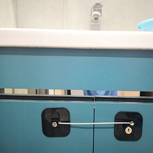 baby proofing cabinet lock