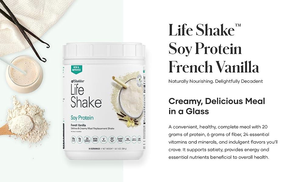 Life Shake Soy Protein French Vanilla