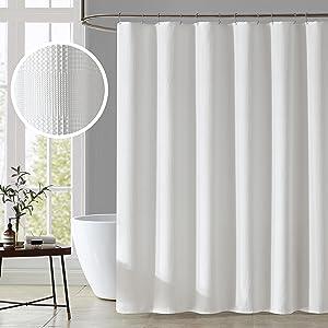 KOMFIER Waffle Shower Curtain