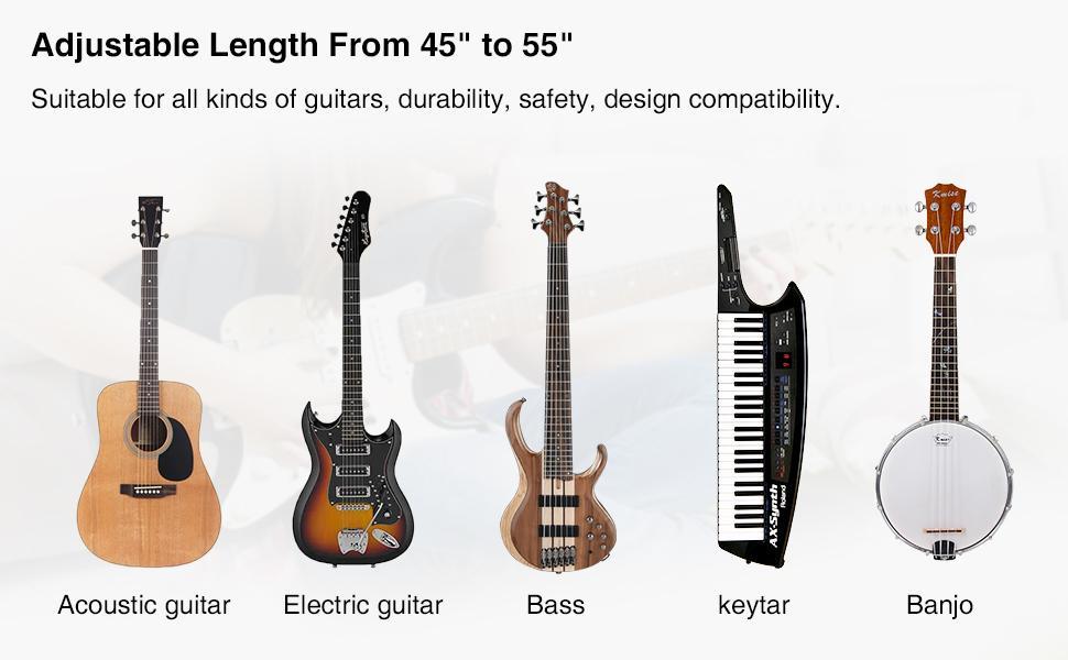 bass guitar strap