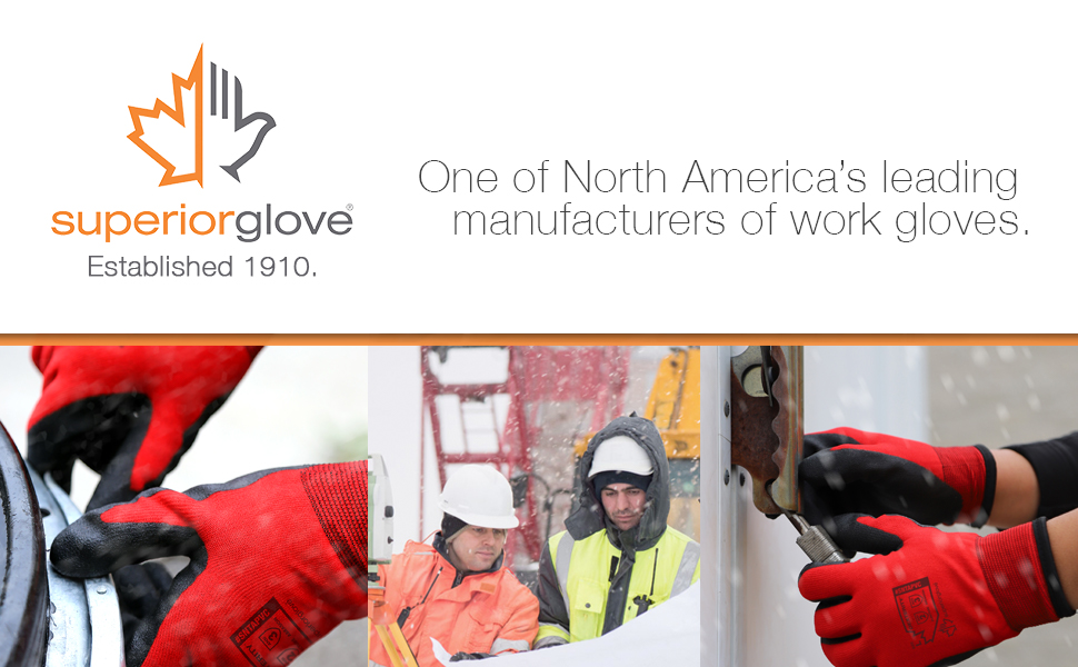 superior glove works winter gloves hand protection cold weather dry hands damp snow freezer work
