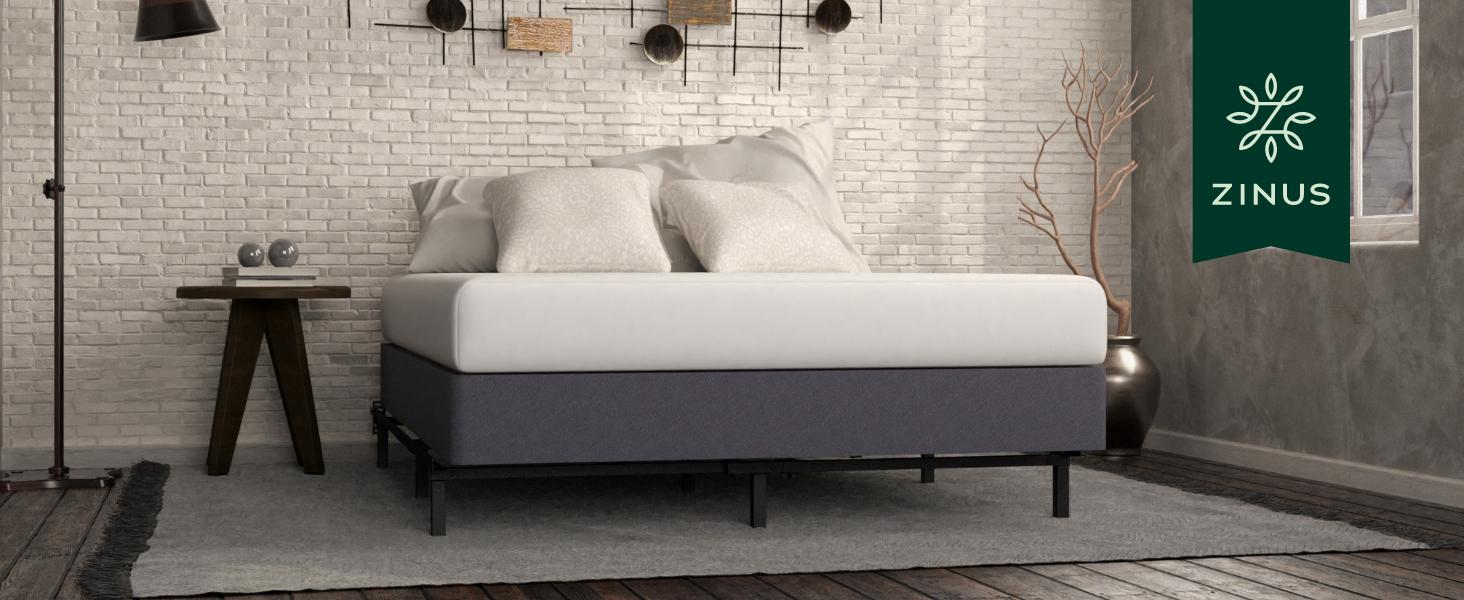 Upholstered box spring