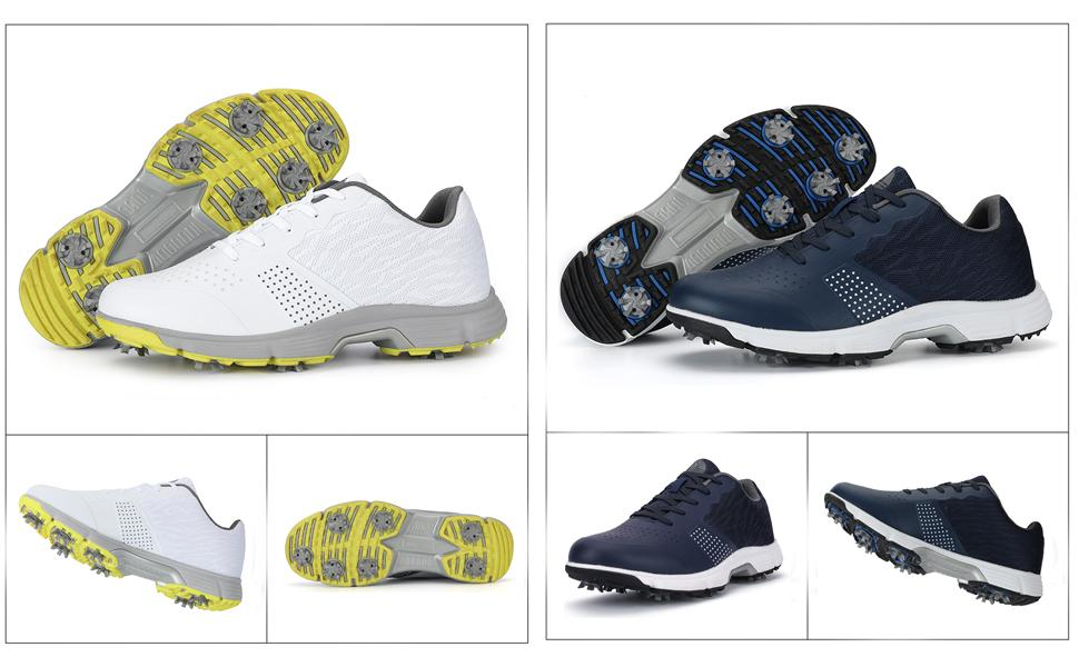 Spikes Golf Trainers Shoes Men