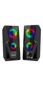 RGB computer speaker