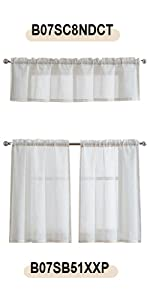 flax linen kitchen curtains