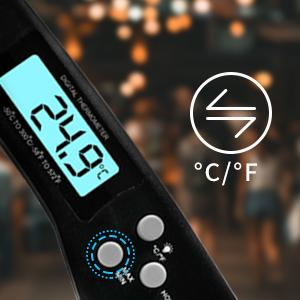 Digital grilltermometer